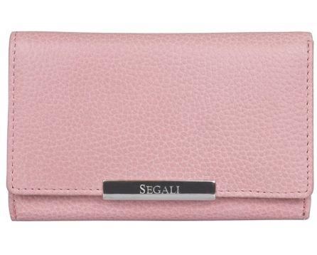 Dámská kožená peněženka SEGALI 7074 baby pink