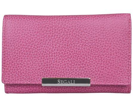 Dámská kožená peněženka SEGALI 7074 fucsia