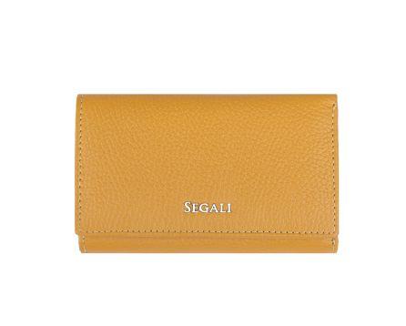 Dámská kožená peněženka SEGALI 7074 žlutá