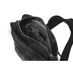 Pánská kožená taška přes rameno SEGALI 7018 černá