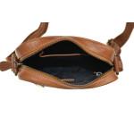 Pánský kožený crossbag SG 7018 cuero