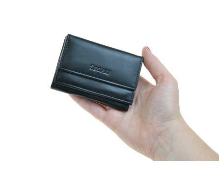 Dámská kožená peněženka SEGALI 1756 černá