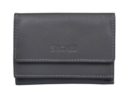 Dámská kožená peněženka SEGALI 1756 šedá