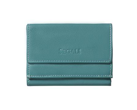 Dámská kožená peněženka SEGALI 1756 emerald