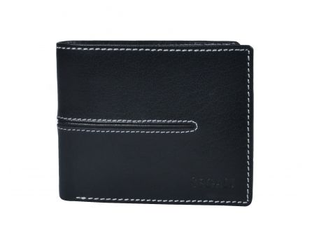 Pánská kožená peněženka s RFID SG 7105 černá
