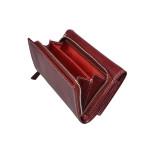 Dámská kožená peněženka SEGALI 7023 Z portwine
