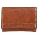 Dámská kožená peněženka SEGALI 7023 Z tan