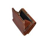 Dámská kožená peněženka SEGALI 870 koňak