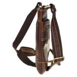 Pánská kožená taška přes rameno SEGALI 25575 hnědá