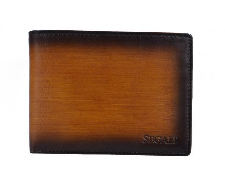 Pánská kožená peněženka SEGALI 929 204 030 koňak