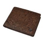 Pánská kožená peněženka SEGALI 950 114 030 tmavě hnědá