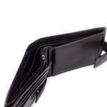 Pánská kožená peněženka SEGALI 3491 černá