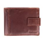Pánská kožená peněženka SEGALI 3491 hnědá