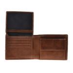 Pánská kožená peněženka SEGALI 3984 tan