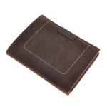 Pánská peněženka SEGALI 50336 hnědá broušená kůže