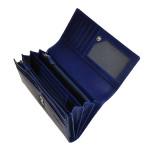 Dámská kožená peněženka SEGALI 28 modrá