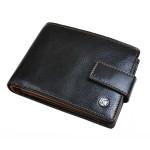 Pánská kožená peněženka SEGALI 907 114 2007C černá/koňaková