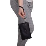Dámská kabelka kožená SEGALI 8002 černá