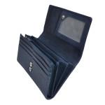 Dámská kožená peněženka SEGALI 7052 indigo