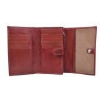 Dámská kožená peněženka SEGALI 720 116 704 červená