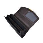 Dámská kožená peněženka SEGALI 7063 hnědá