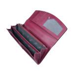 Dámská kožená peněženka SEGALI 7056 fucsia