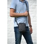Pánská kožená taška přes rameno SEGALI 1110 černý