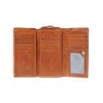 Dámská kožená peněženka SEGALI 1770 tan
