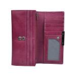 Dámská kožená peněženka SEGALI 7066 fuchsia