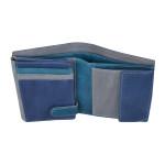 Pánská kožená peněženka SEGALI 730 115 2519 modrá