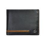 Pánská kožená peněženka SEGALI 753 115 026 černá/koňak