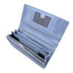 Dámská kožená peněženka SEGALI 7075 celestial