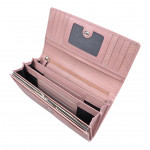 Dámská kožená peněženka SEGALI 7075 baby pink