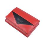 Dámská kožená peněženka SEGALI 7020 červená/černá