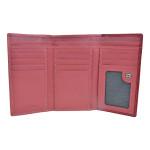 Dámská kožená peněženka SG 7107 magenta/carmine