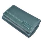 Dámská kožená peněženka SEGALI 1770 turk. zelená