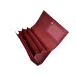 Dámská kožená peněženka SEGALI 07 červená