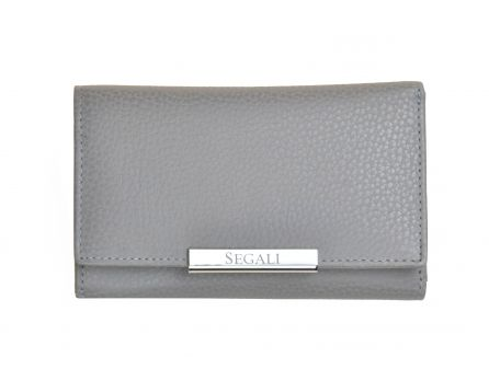 Dámská kožená peněženka SEGALI 7074 taupe
