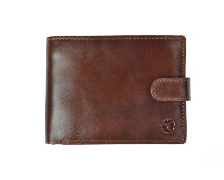 Pánská peněženka kožená SEGALI 103 AL hnědá