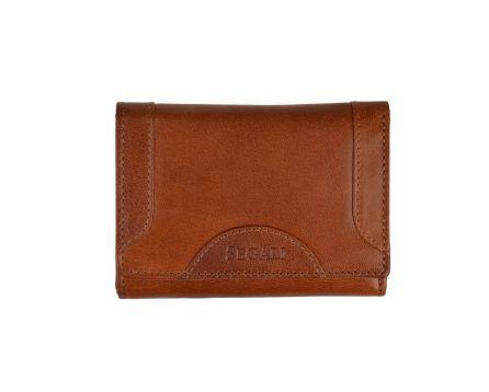 Dámská kožená peněženka SEGALI 7196 B koňak