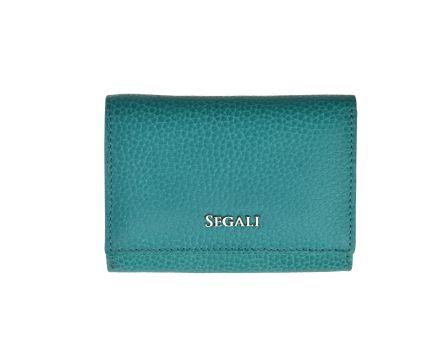 Dámská kožená peněženka SEGALI 7106 B capri sea