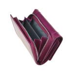 Dámská kožená peněženka SEGALI 7196 B fucsia