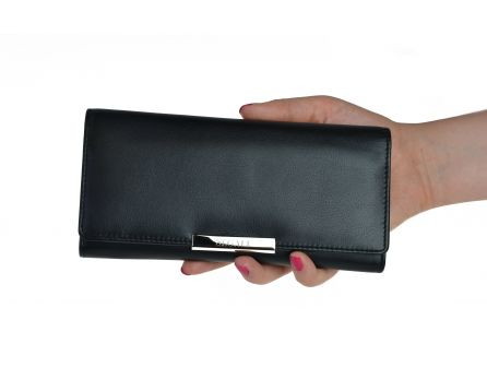 Dámská kožená peněženka SEGALI 7066 černá