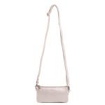Dámská kožená kabelka SEGALI 8003 stříbrná