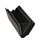 Dámská kožená peněženka SEGALI 7074 černá