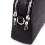 Kožená kabelka SEGALI 12 černá