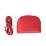 Kožená kabelka SEGALI 12 červená