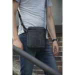 Pánská kožená taška přes rameno SEGALI 25578 černá