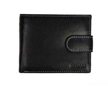 Pánská kožená peněženka SEGALI 2016 černá