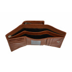 Dámská kožená peněženka SEGALI 3305 CD koňak